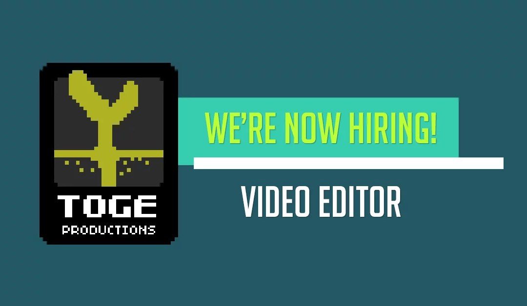 Full-Time: Video Editor