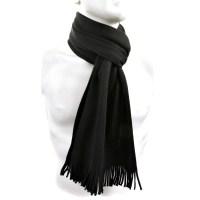 Hugo Boss Scarf black Albas wool scarf BOSS2513 at Togged ...