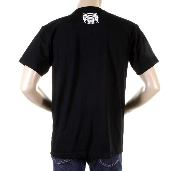 Fbi Black Crewneck Printed T Shirt Rmc Jeans