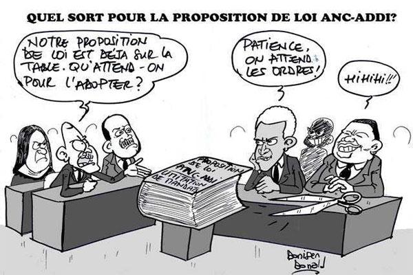 Caricature : Donisen Donald / Liberté Caricature : Donisen Donald / Liberté