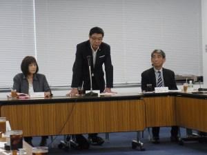 東京販売士協会 大場会長による開会の挨拶