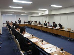 東京販売士協会 常任理事・理事会の様子