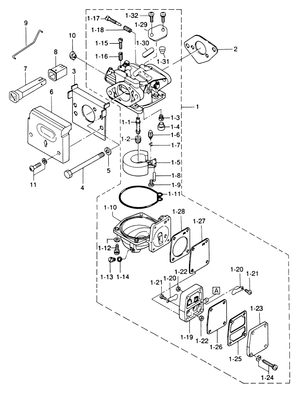 3. CARBURETOR : , Reliable Source of Nissan Tohatsu Boat