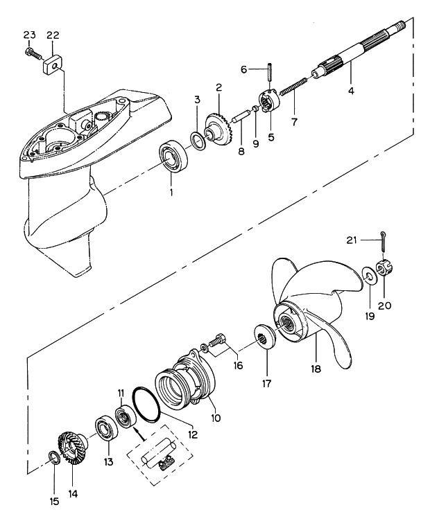9. GEAR CASE (PROPELLER SHAFT) : , Reliable Source of