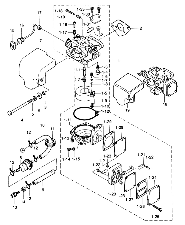 4. CARBURETOR : , Reliable Source of Nissan Tohatsu Boat