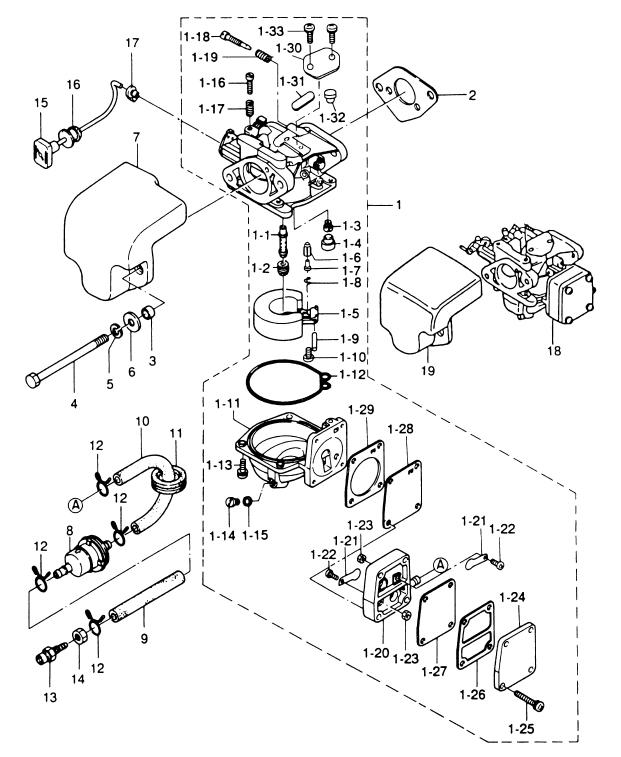 4. CARBURETOR : , Reliable Source of Nissan Tohatsu Boat