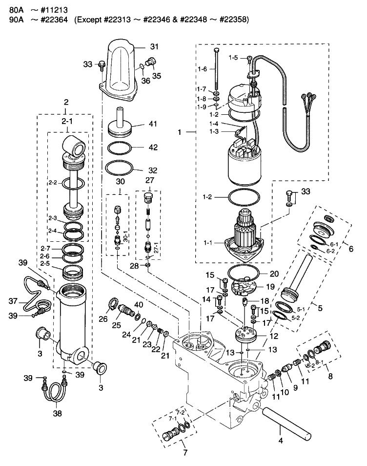 20. POWER TRIM & TILT : , Reliable Source of Nissan