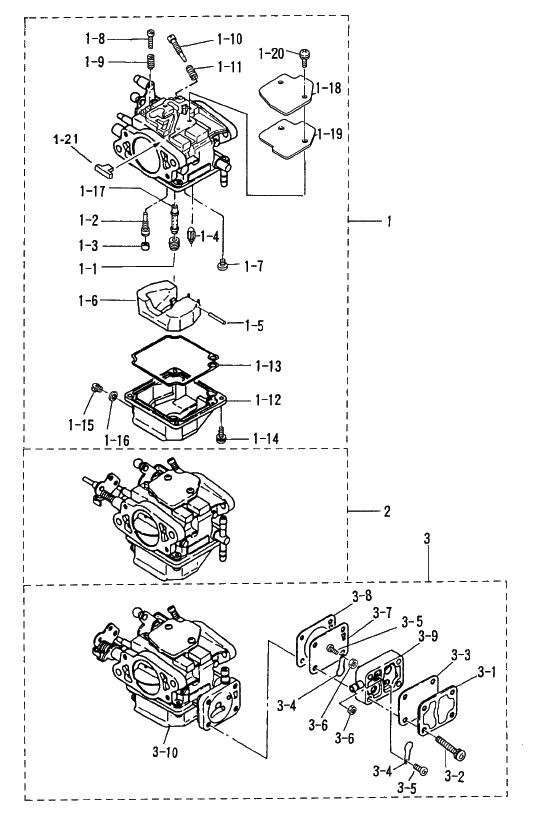 5. CARBURETOR : , Reliable Source of Nissan Tohatsu Boat