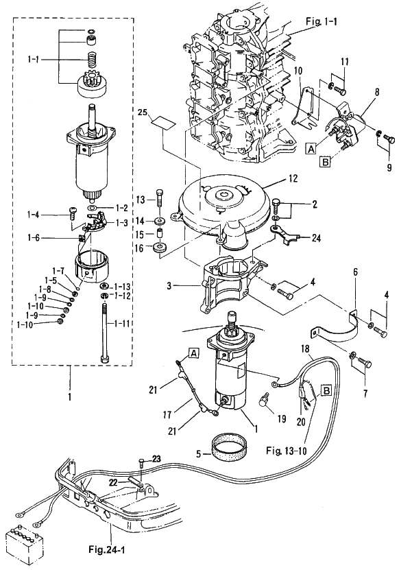 12. ELECTRIC PARTS (STARTER MOTOR) : , Reliable Source of