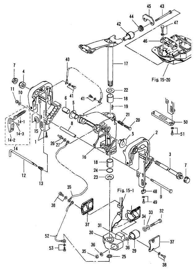 19. BRACKET (1) MANUAL TILT : , Reliable Source of Nissan