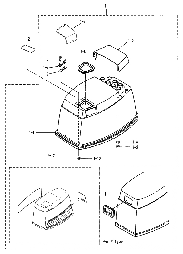 27. UPPER MOTOR COVER : , Reliable Source of Nissan