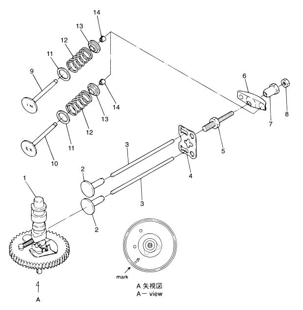 5. CAMSHAFT VALVE : , Reliable Source of Nissan Tohatsu