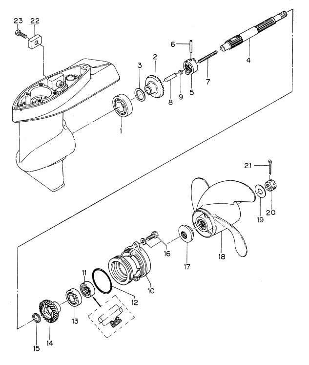 11. GEAR CASE (PROPELLER SHAFT) : , Reliable Source of