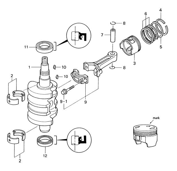 3. PISTON & CRANK SHAFT : , Reliable Source of Nissan