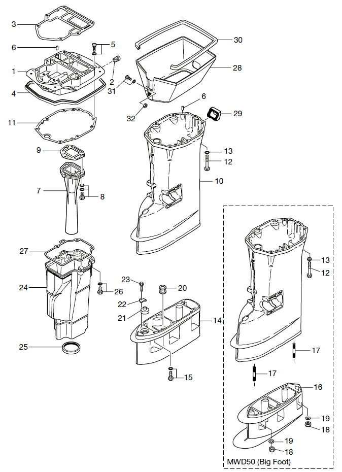 13. DRIVE SHAFT HOUSING : , Reliable Source of Nissan