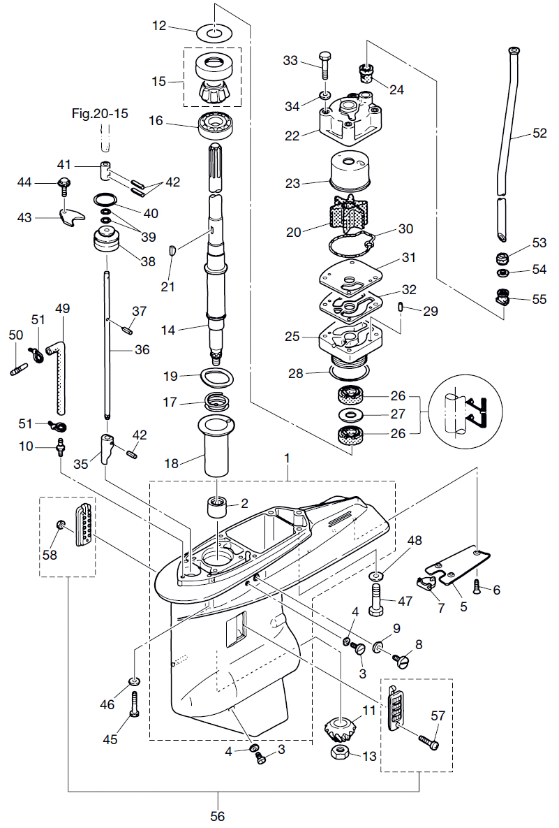 13. GEAR CASE (DRIVE SHAFT) : , Reliable Source of Nissan