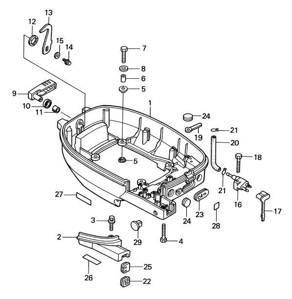 22. MOTOR COVER LOWER : , Reliable Source of Nissan