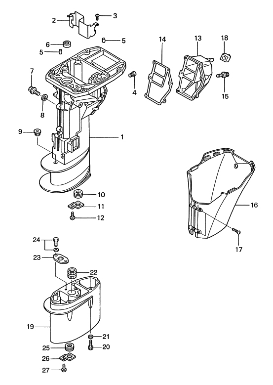 14. DRIVE SHAFT HOUSING : , Reliable Source of Nissan