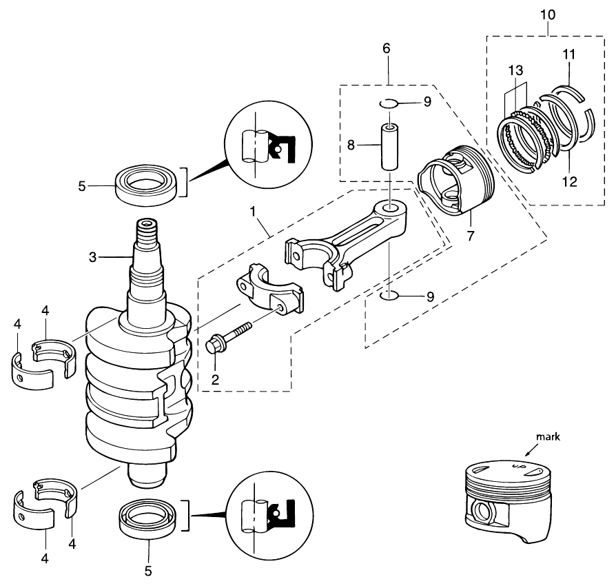 2. PISTON & CRANK SHAFT : , Reliable Source of Nissan