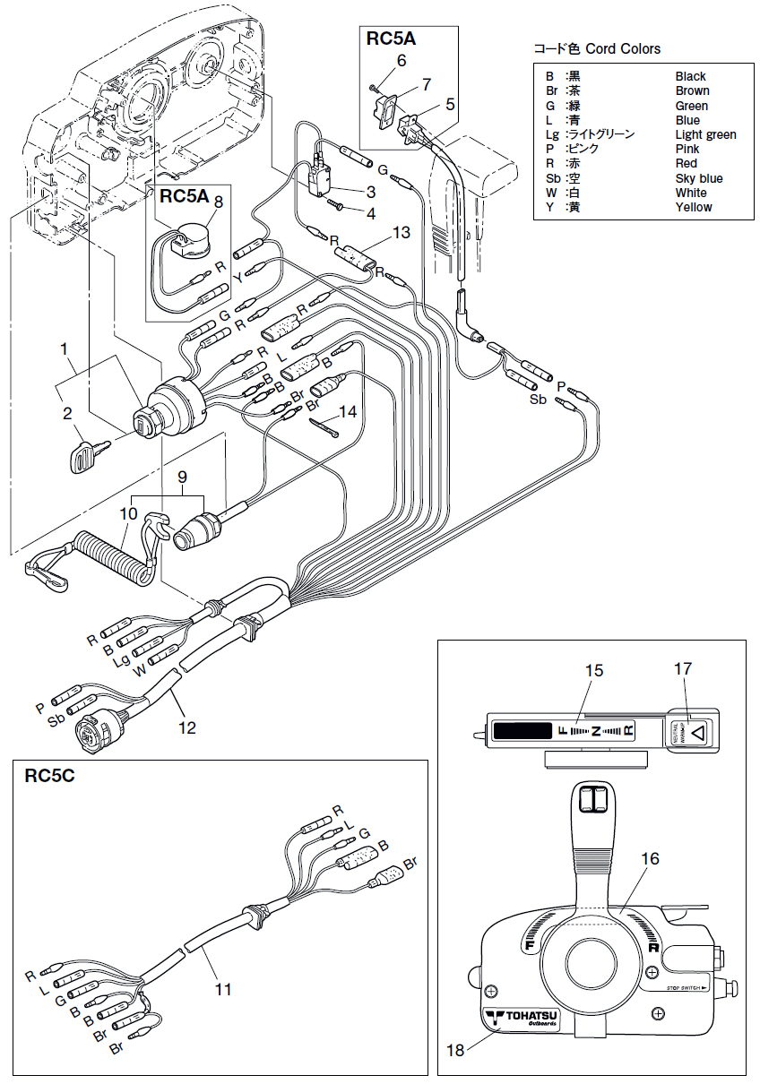 22. COMPONENT PARTS OF REMOTE CONTROL (ELECTRIC PARTS