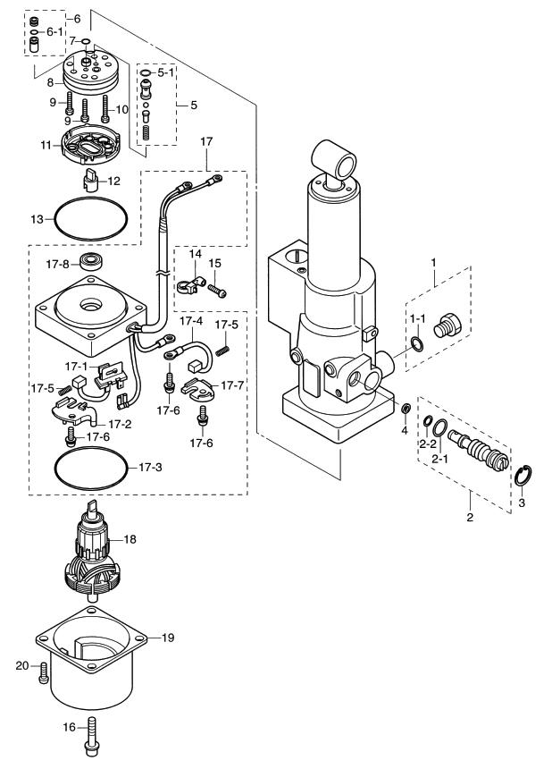 21. POWER TILT : , Reliable Source of Nissan Tohatsu Boat