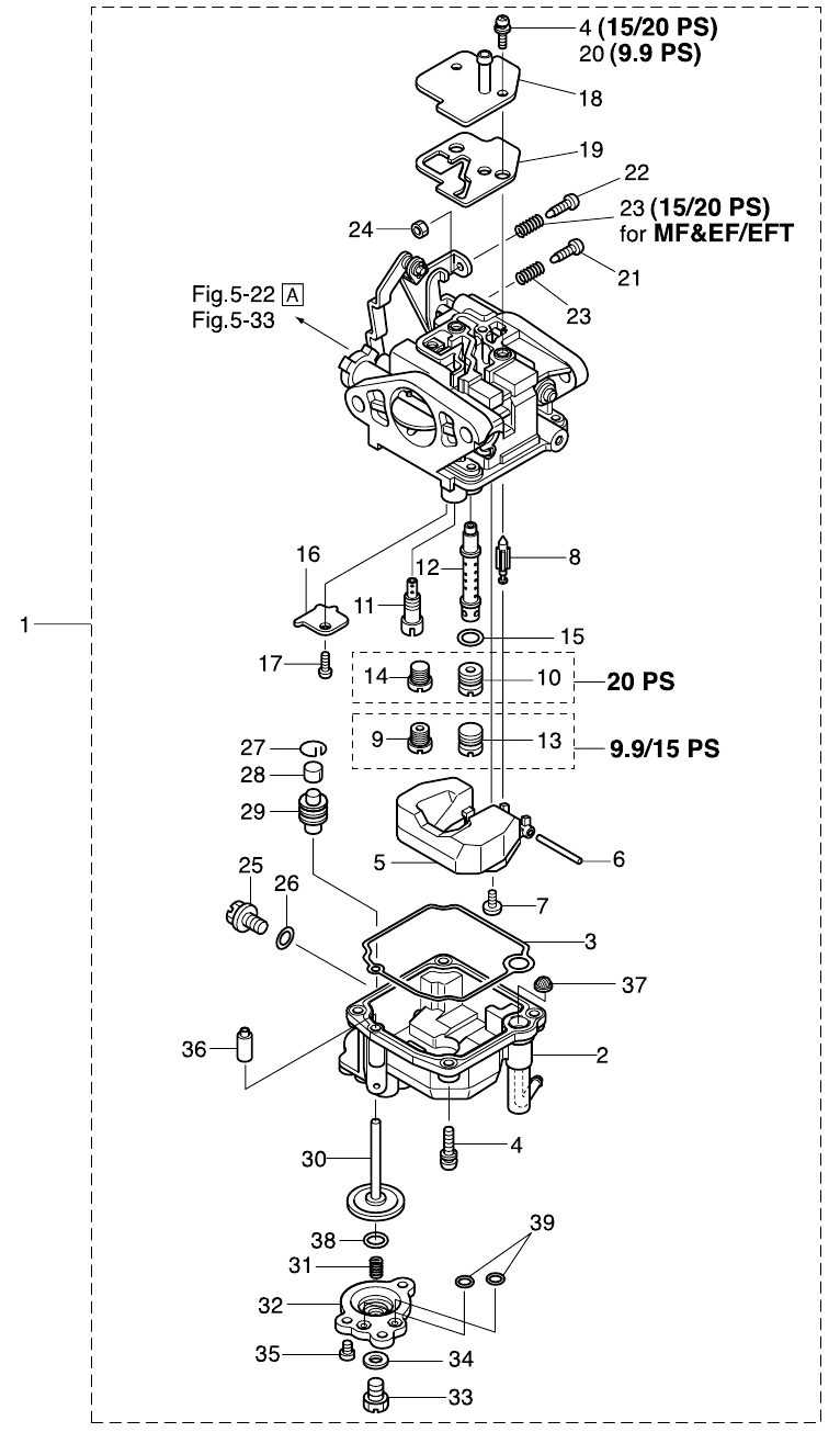 6. CARBURETOR : , Reliable Source of Nissan Tohatsu Boat