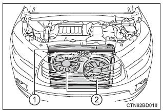 Toyota Highlander Owners Manual: If your vehicle overheats