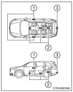 Toyota Highlander Owners Manual: Smart key system