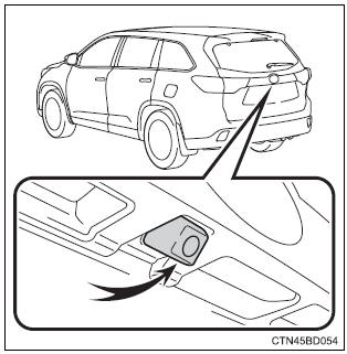 Toyota Highlander Owners Manual: Rear view monitor system