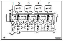 Toyota Highlander Service Manual: Camshaft (2AZ-FE