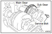 Toyota Highlander Service Manual: Camshaft (RH BANK) (3MZ