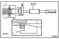 Toyota Highlander Service Manual: Transfer extension