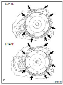 Toyota Highlander Service Manual: Automatic transaxle ASSY
