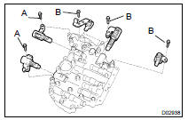 Toyota Highlander Service Manual: Transmission valve body