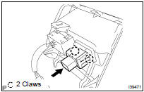 Toyota Highlander Service Manual: Power outlet socket ASSY