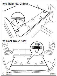 Toyota Highlander Service Manual: Roof headlining ASSY