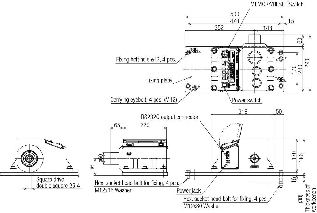 Torque Wrench Checker LC2-G