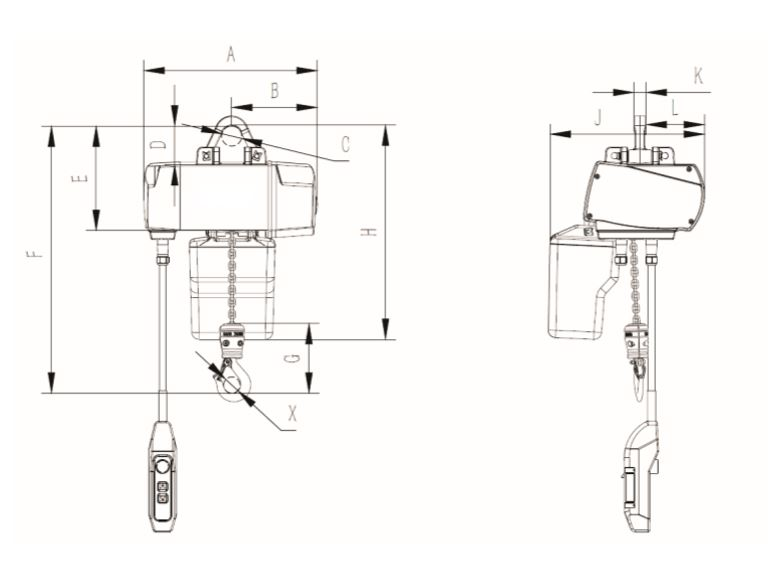 DCH ELECTRIC CHAIN HOIST Manufacturers and Suppliers China