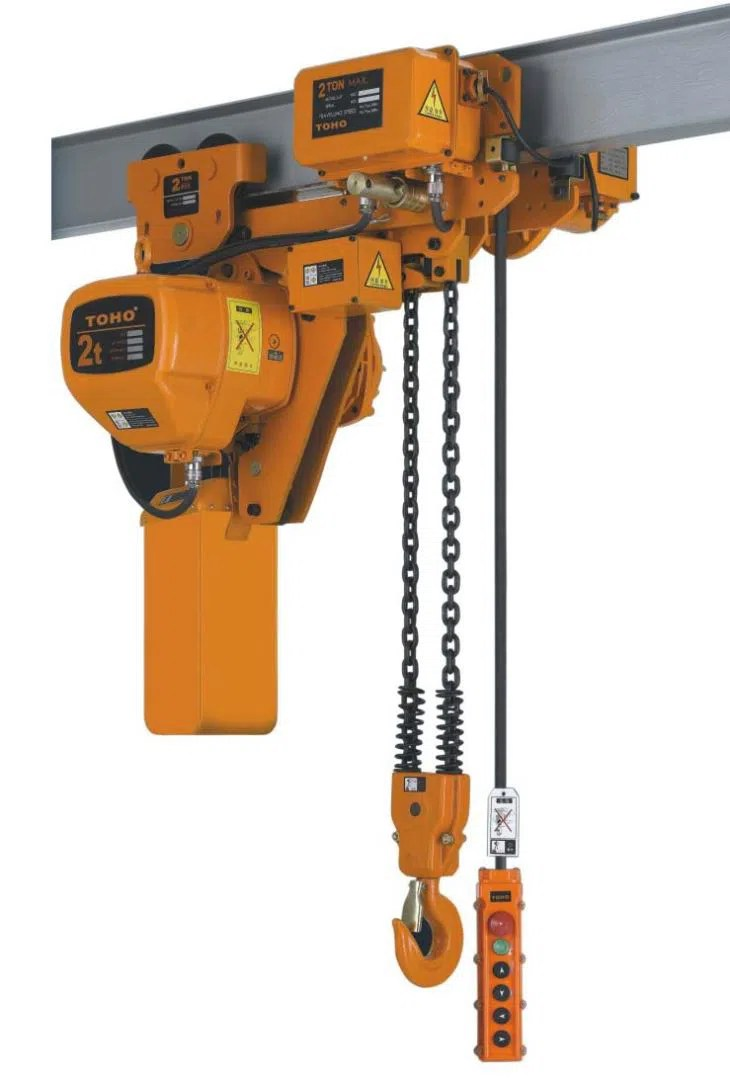 hight resolution of hhb type low headroom electric chain hoist with motor trolley and manual trolley 3phase manufacturers and suppliers china oem factory toho rongkee