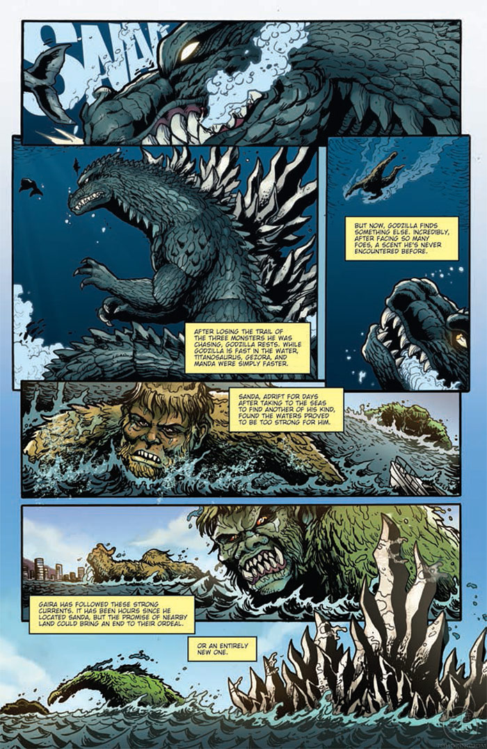 IDW Godzilla Rulers of Earth 10 Preview