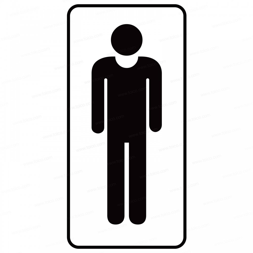 Man Graphic Decal