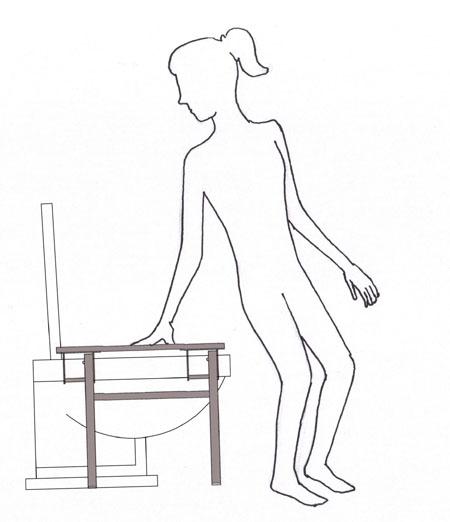 How to squat with the Evaco squatting platform