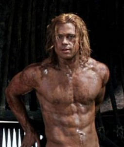 Brad-Pitt-ripped-abs-troy