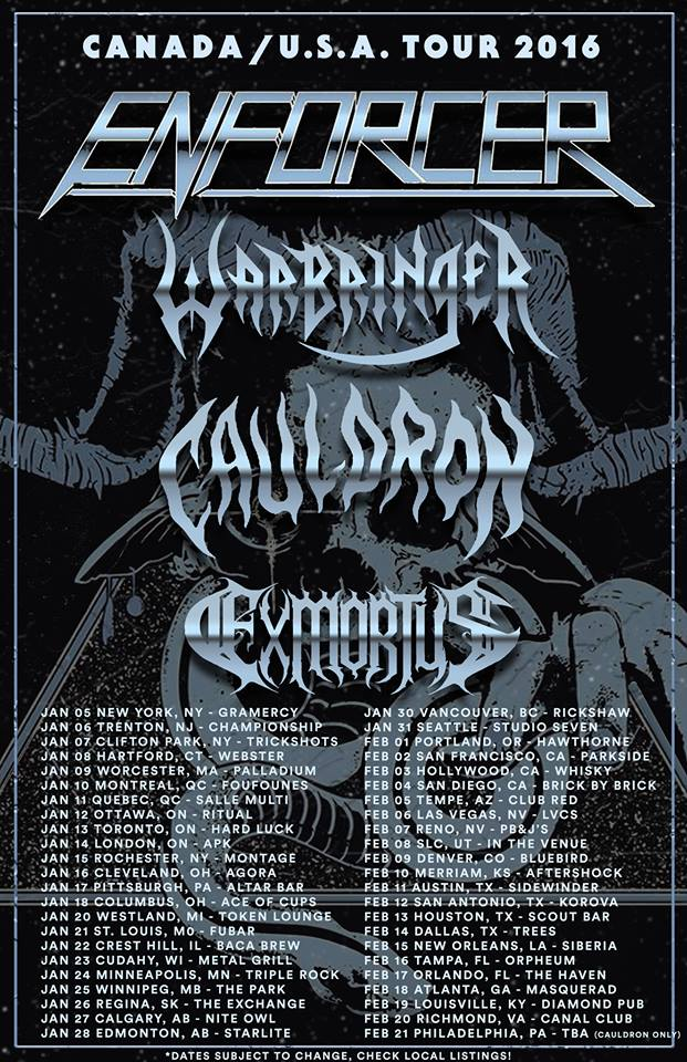Cauldron Enforcer Tour