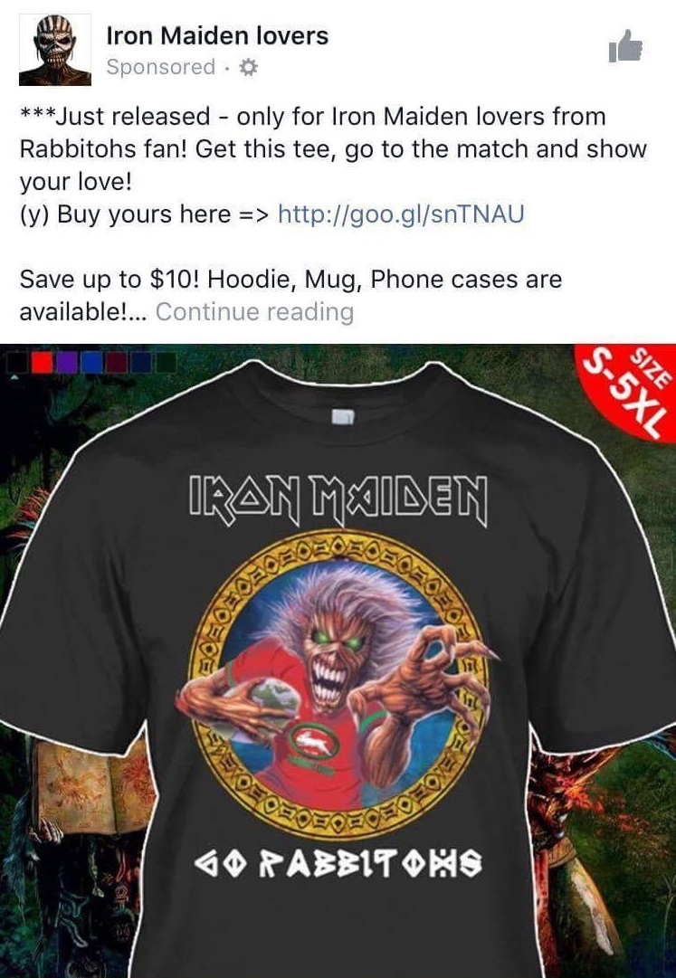 Shirt Stains: Facebook Bootlegs – The Toilet Ov Hell