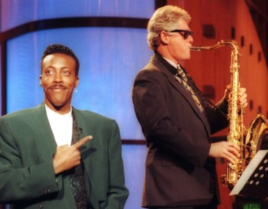 SAXOPHONE BILL CLINTON