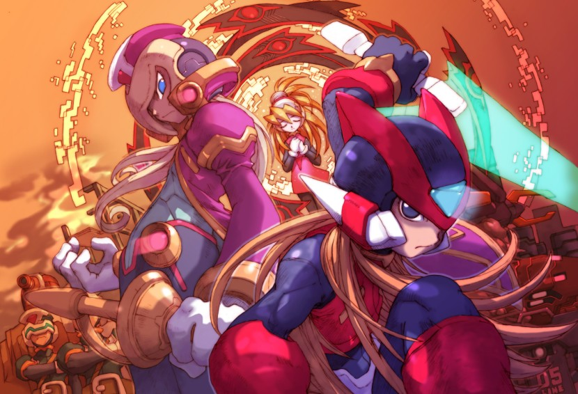 mega man zero official art
