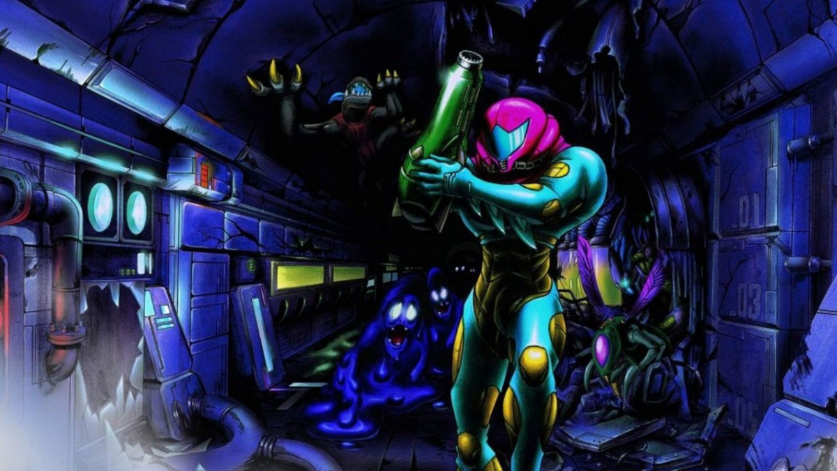 metroid fusion official art