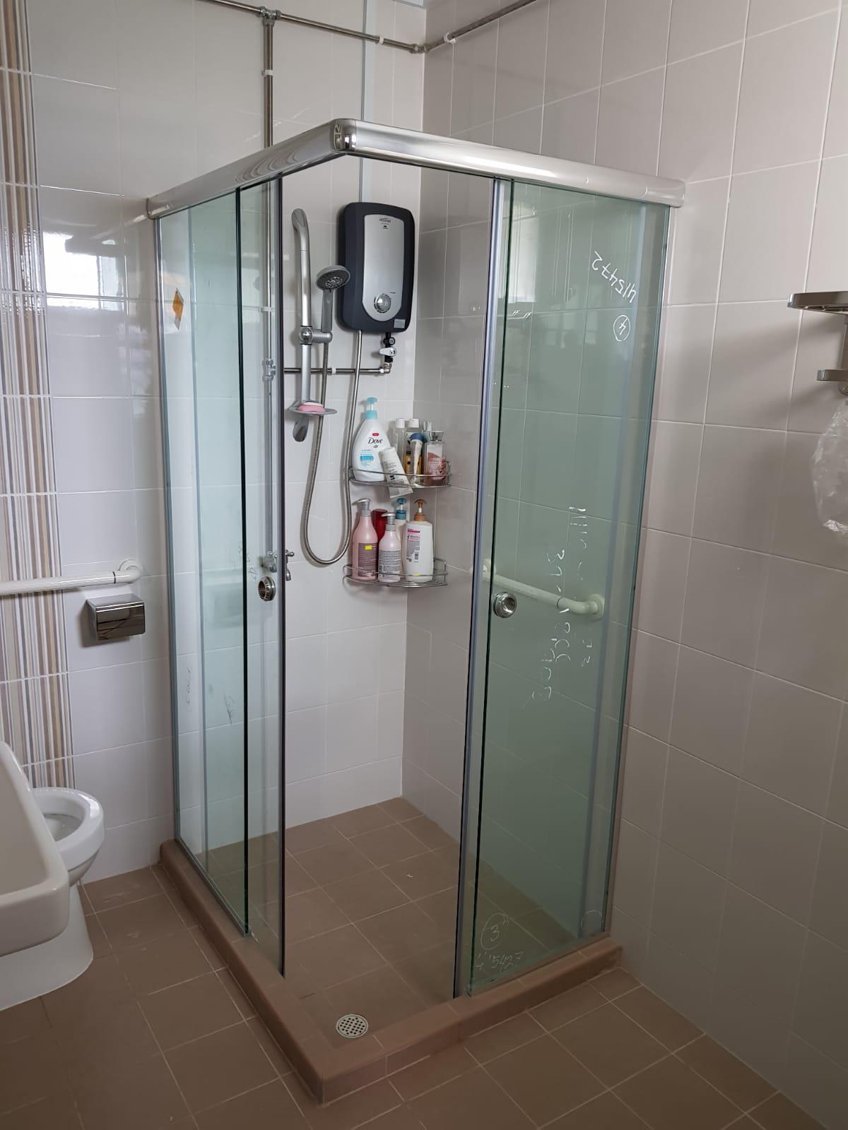 Toilet Shower Screen Toilet Amp Bathroom Renovation Singapore