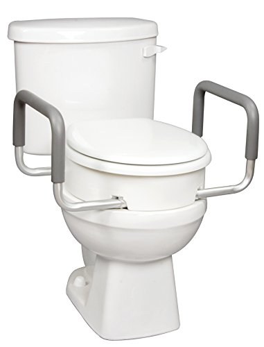 Carex Health Brands Toilet Seat Elevator With Handles For